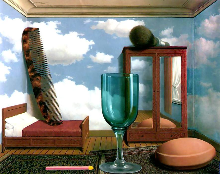 famous painting Valores personales of Rene Magritte
