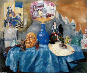 James Ensor - Chinoiseries