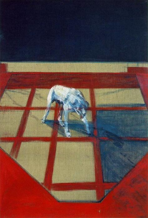 famous painting perro of Francis Bacon
