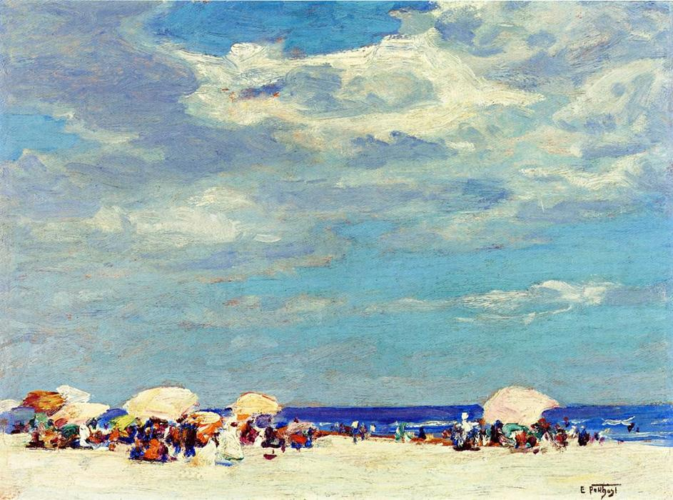 famous painting escena de la playa of Edward Henry Potthast