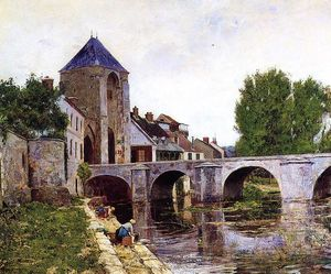 William Lamb Picknell - Día gris, Moret