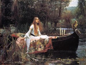 John William Waterhouse - La Dama de Shalott