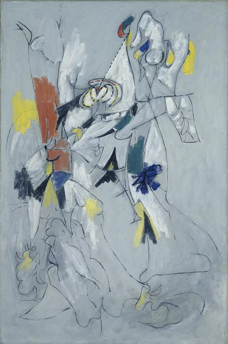 famous painting catarata of Arshile Gorky