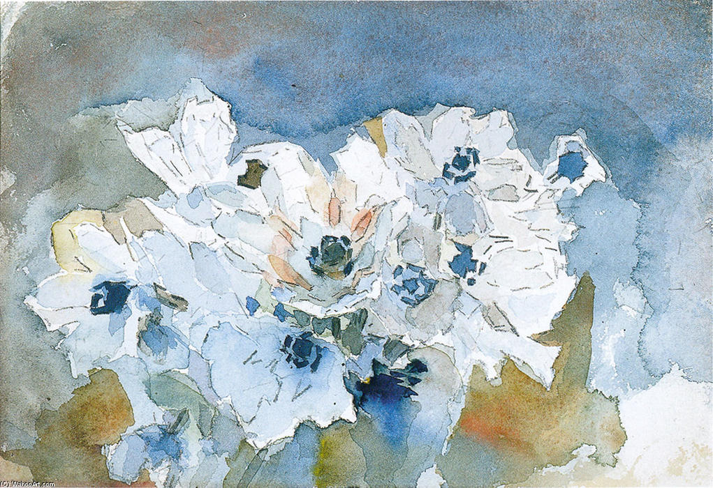 famous painting Flores of Mikhail Vrubel