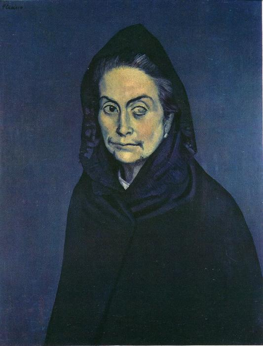 famous painting Celestina of Pablo Picasso