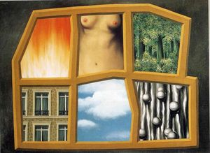 Rene Magritte - Los Seis abecé