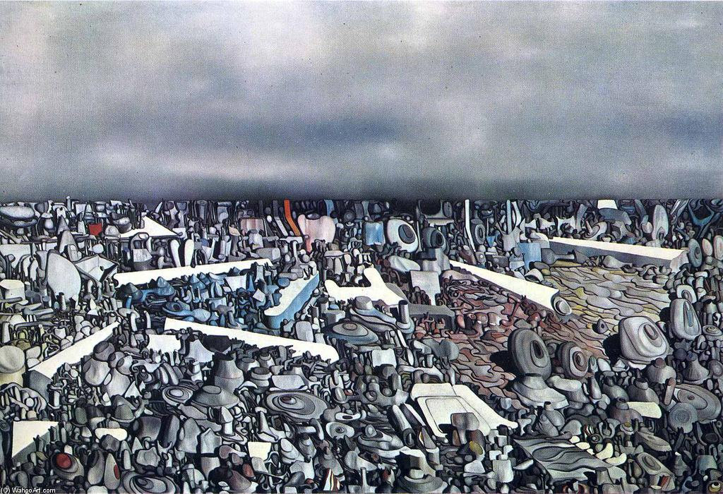 famous painting Multiplicación todaclasede  el  Arcos  of Yves Tanguy