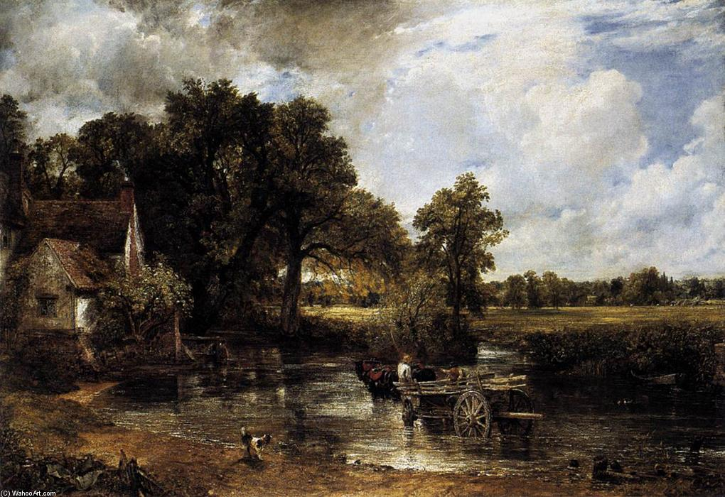 famous painting El Hay-Wain of John Constable