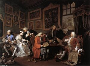 William Hogarth - Matrimonio A La Mode