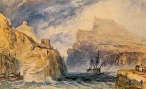 William Turner - Boscastle Cornualles