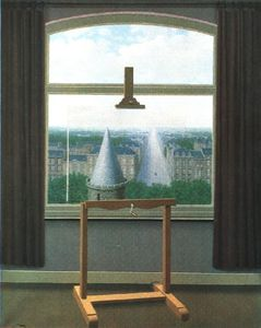 Rene Magritte - Euclidiana camina , 1955 , minneapolis inst . de las artes