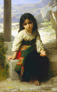 William Adolphe Bouguereau - Chiquita mendiante