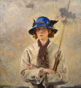 William Newenham Montague Orpen - El pescador
