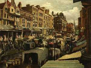 Edwin Edwards - alto calle , Whitechapel